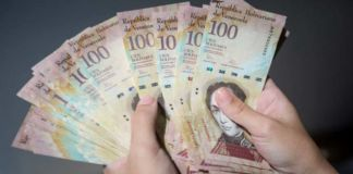 Billetes de 100 mil, como alternativa